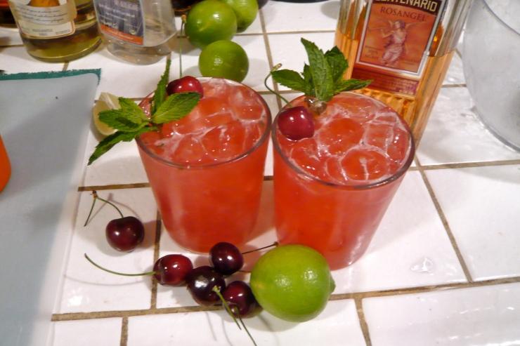Rosangel Cherry Lime Smash